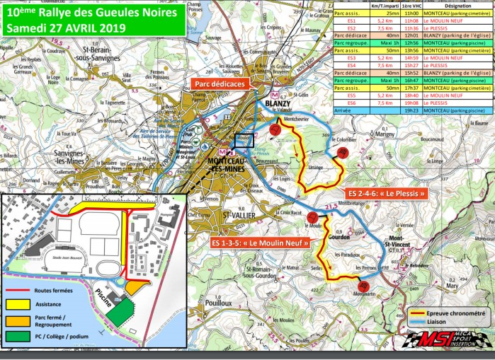 carte rallye gueules boires sport auto speed race meca insertion avril 2019 speciales moulin Plessis Montceau-news.com 200419