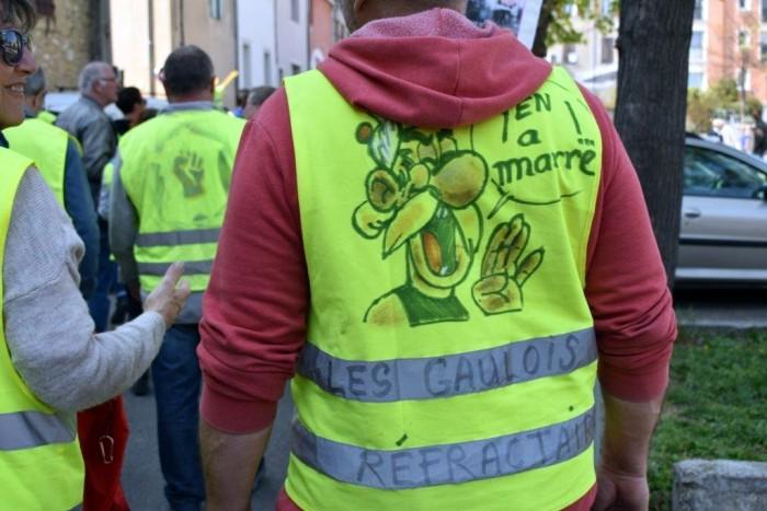gilets jaunes Magny Manosque lecteur daniel Creteur Montceau-news.com 14041912