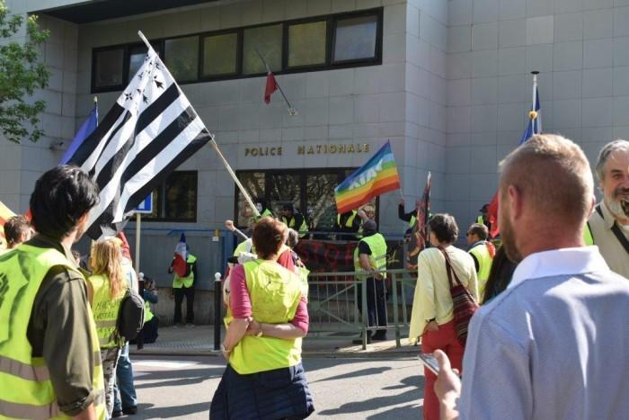 gilets jaunes Magny Manosque lecteur daniel Creteur Montceau-news.com 14041920