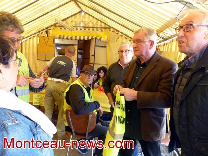 gilets jaunes Magny plainte commissariat police vol cine camera club Montceau-news.com 150419