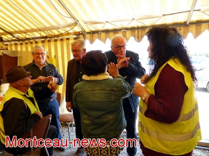 gilets jaunes Magny plainte commissariat police vol cine camera club Montceau-news.com 15041911