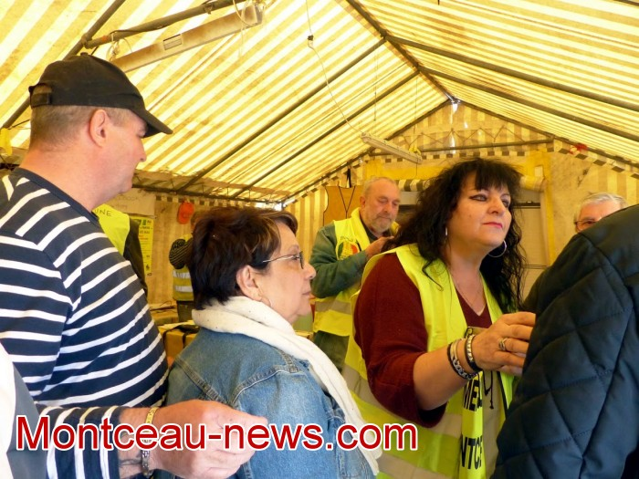 gilets jaunes Magny plainte commissariat police vol cine camera club Montceau-news.com 15041912