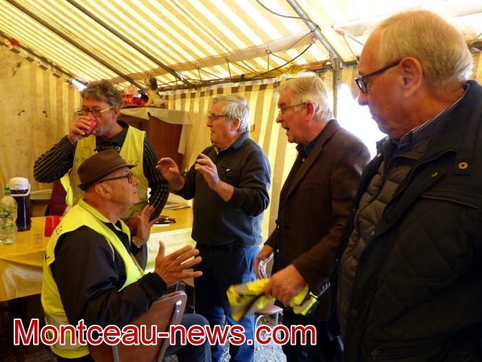 gilets jaunes Magny plainte commissariat police vol cine camera club Montceau-news.com 1504195
