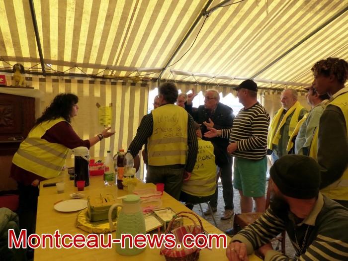 gilets jaunes Magny plainte commissariat police vol cine camera club Montceau-news.com 1504198