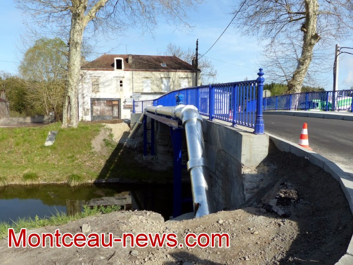 refection pont Lucy CCM CUCM travaux chantier open ouverture circulation Montceau-news.com 1704191