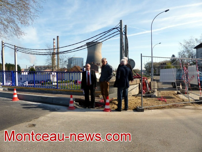 refection pont Lucy CCM CUCM travaux chantier open ouverture circulation Montceau-news.com 1704192