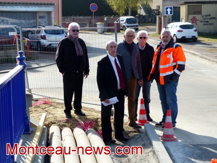 refection pont Lucy CCM CUCM travaux chantier open ouverture circulation Montceau-news.com 1704193