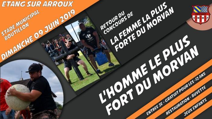 tract homme fort Hercule femme woman concours Morvan spectacle show eros string annonce Montceau-news.com 220419