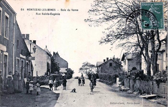 voyage passe patrimoine histoire ribrique Jacky Jacquet cartes postales anciennes, CPA Montceau-news.com 1304194