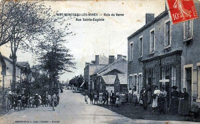 voyage passe patrimoine histoire ribrique Jacky Jacquet cartes postales anciennes, CPA Montceau-news.com 1304195