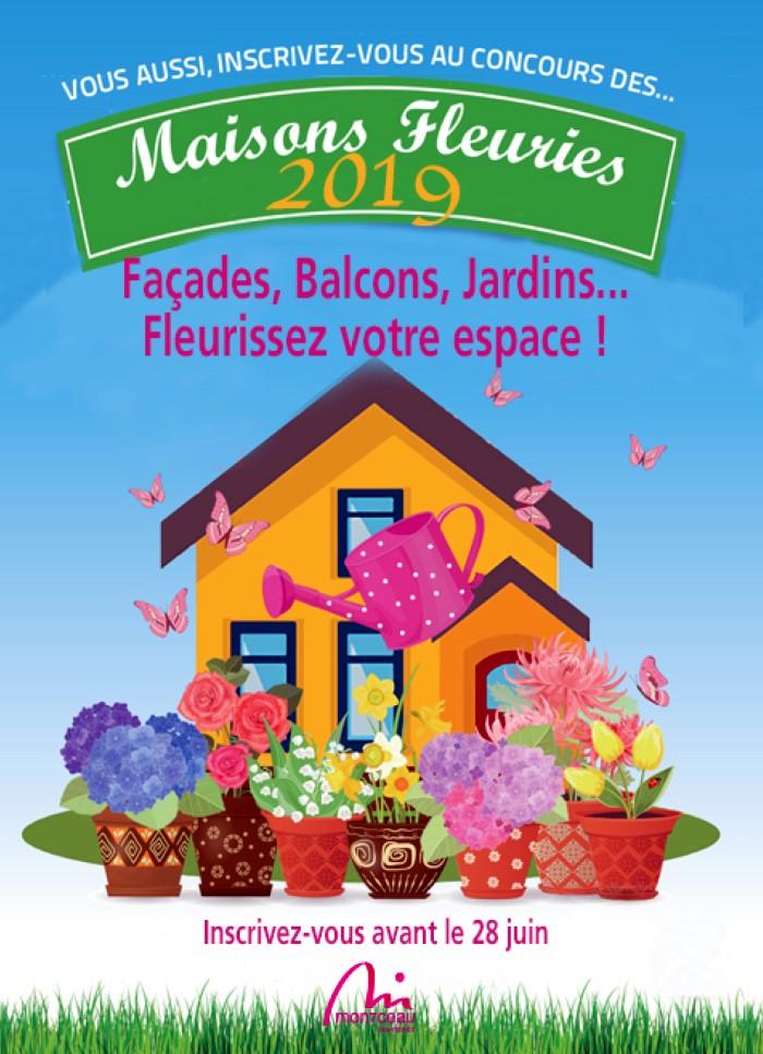 Concpours maisons fleuries fleurs flowers decoration environnement jardin balcon terrasse prix lots recompenses Montceau-news.com 1405191