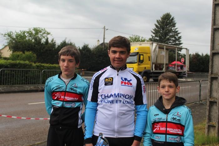 FSGT ASPTT Laurine Ducote Thibaut Baudin VCM cyclisme Montceau club titre cchampion Saone-et-Loire performance vitesse speed Montceau-news.com 1105194