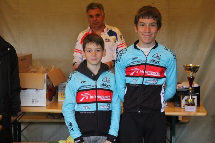 FSGT ASPTT Laurine Ducote Thibaut Baudin VCM cyclisme Montceau club titre cchampion Saone-et-Loire performance vitesse speed Montceau-news.com 1105199