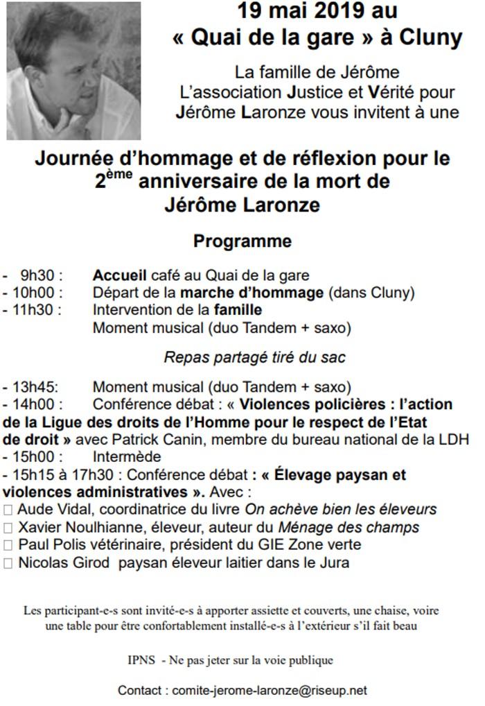 Jerome Laronze paysan tue gendarme confederation pysanne jacuqerie crise manifestation Charolais banques crime homicide justice proces tribunal revote Montceau-news.com 150519
