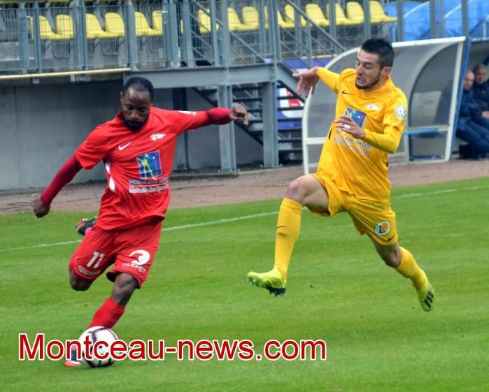 Jeu Football FCMB FCG foot soccers matche championnat national3 club game places gagner lot lecteurs readers site web Montceau-news.com 150519