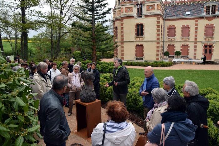 Lancement saison culture villa Perrusson Ecuisses communaute urbaine Creusot-Montceau CUCM show prefet Jeome Gutton Montceau-news.comp 050519