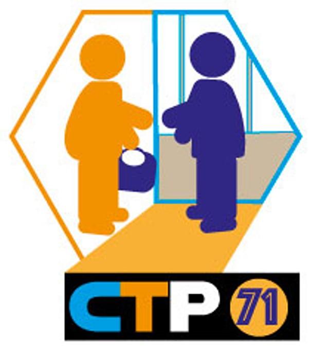 Logo CTP71 competences temps parage emploi formation entreprise economie stage session information Coriolis zone TGV Montceau-news.com 150519