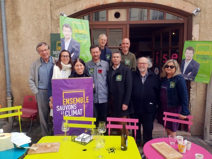 Vincent Talmot candidat ecologiste EELV liste Europe campagne politique Saone-et-loire Bourgogne Yannick Jadot Montceau-news.com 0805191