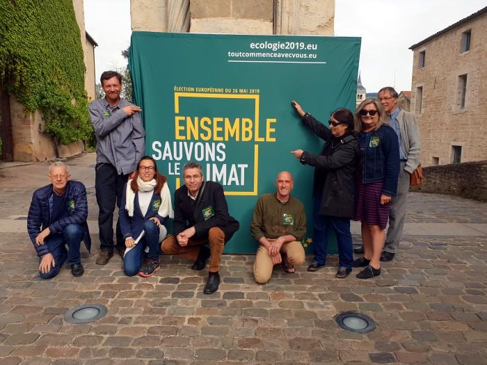 Vincent Talmot candidat ecologiste EELV liste Europe campagne politique Saone-et-loire Bourgogne Yannick Jadot Montceau-news.com 0805192