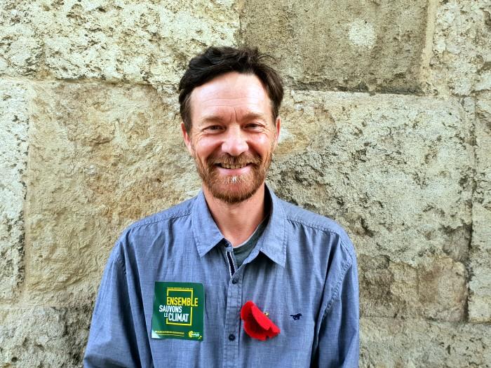 Vincent Talmot candidat ecologiste EELV liste Europe campagne politique Saone-et-loire Bourgogne Yannick Jadot Montceau-news.com 0805193