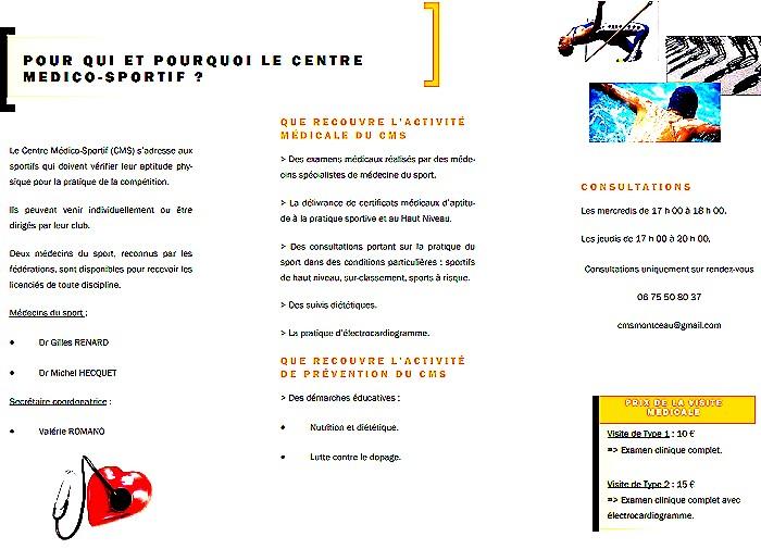 centre medico-sportif sport assemblee general meeting président Gerard Gronfier Montceau Montceau-news.com 10005191
