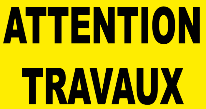 illustration travaux chantier interdit interdiction circullation danger dangerous nopass Montceau-news.com 190519