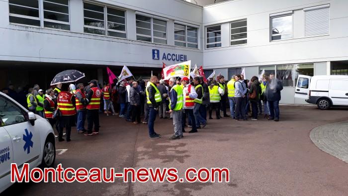 mobilisation greve fonction publique fonctionnaires politique social hopital sante Montceau-news.com 090519