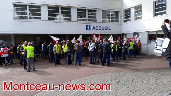 mobilisation greve fonction publique fonctionnaires politique social hopital sante Montceau-news.com 0905191