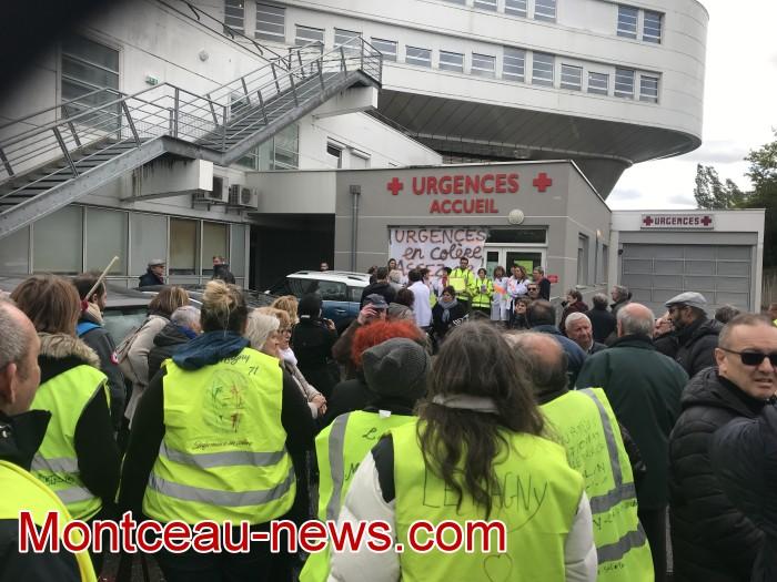 mobilisation greve fonction publique fonctionnaires politique social hopital sante Montceau-news.com 09051910