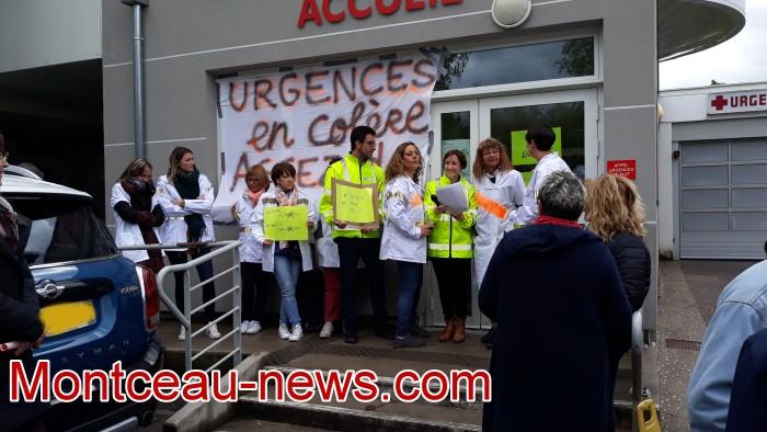 mobilisation greve fonction publique fonctionnaires politique social hopital sante Montceau-news.com 09051912