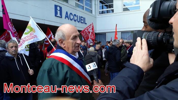 mobilisation greve fonction publique fonctionnaires politique social hopital sante Montceau-news.com 0905192