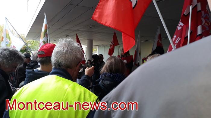 mobilisation greve fonction publique fonctionnaires politique social hopital sante Montceau-news.com 0905193