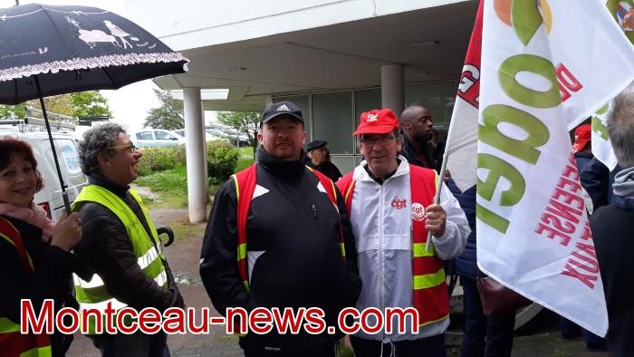 mobilisation greve fonction publique fonctionnaires politique social hopital sante Montceau-news.com 0905194