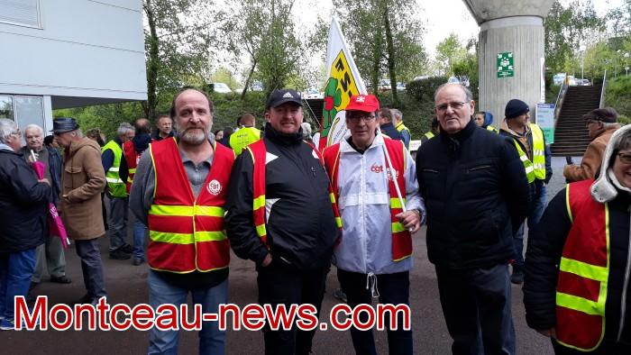 mobilisation greve fonction publique fonctionnaires politique social hopital sante Montceau-news.com 0905197