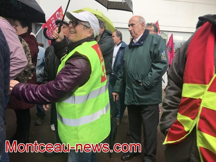 mobilisation greve fonction publique fonctionnaires politique social hopital sante Montceau-news.com 0905198