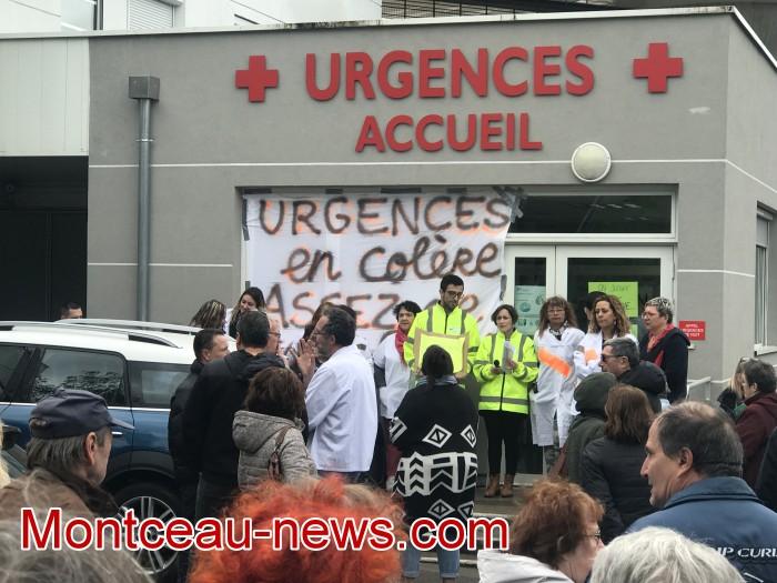 mobilisation greve fonction publique fonctionnaires politique social hopital sante Montceau-news.com 0905199