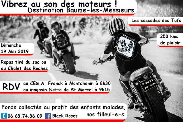 tract affiche rando moto Black Roses Montchanin enfants malades childen caritatif balade Beaume-les-Messieurs grottes Montceau-news.com 140519