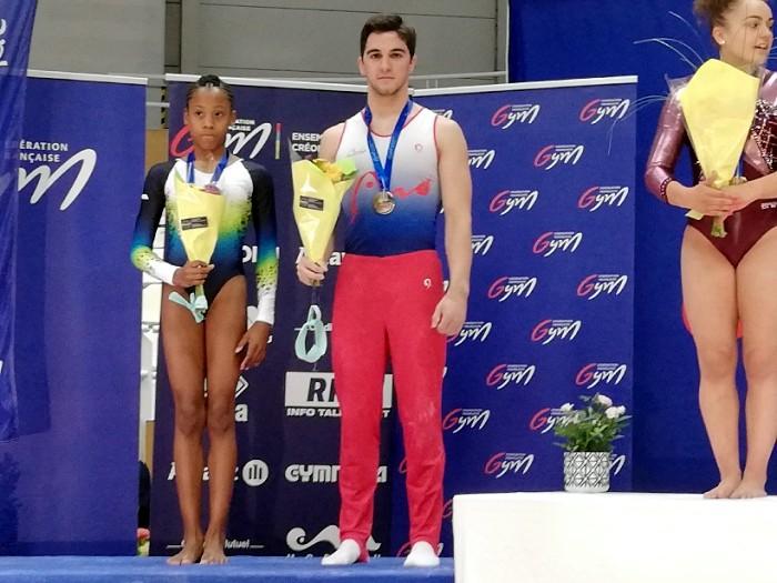 Championnat de France ELITE Montceau gym gymnastique podium place titre national Montceau-news.com 1006192