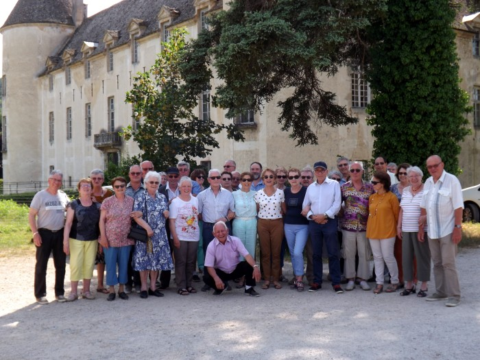 Classe 9 Blanzy sortie Savigny-les-Beaune vin wine chateau visite travel Montceau-news.com 100619