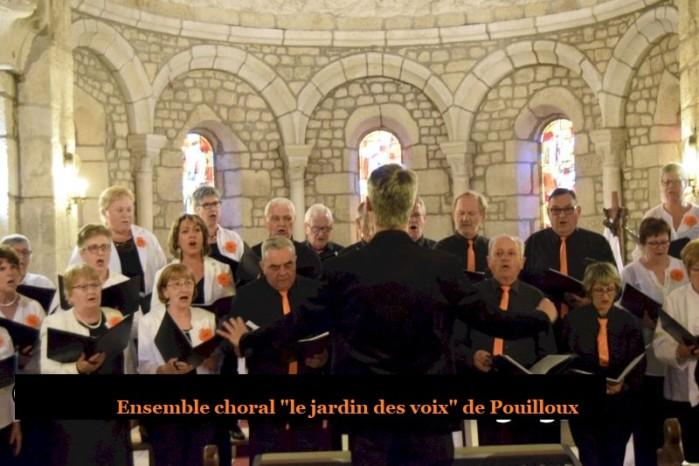 Ensemble choral choeur chant song concert flyer affiche Martigny-le-Comte Charolais sortir loisirs jardin voix Montceau-news.com 050619