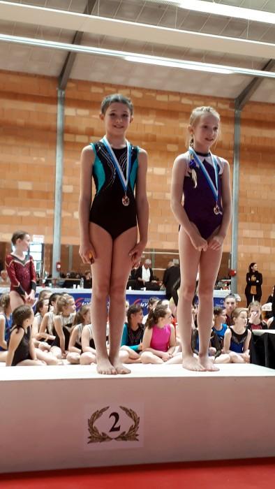Etoile Gymnique gym gymnastique Ciry noble championnat young filles girls podium Montceau-news.com 1406519