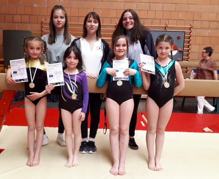 Etoile Gymnique gym gymnastique Ciry noble championnat young filles girls podium Montceau-news.com 14065194