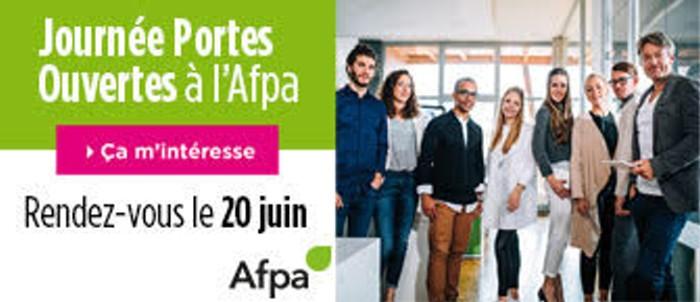 Flyer affiche annonce porte-ouverte AFPA formation proessionnelles adultes metier informatin site web Montceau-news.com 110619