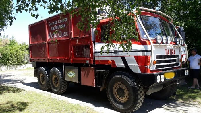 Jean Pierre Lovarini musee camion truck Paris Dakar course raid race selfie lecteur raeder site web Montceau-news.com 0306191