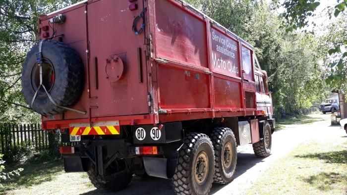 Jean Pierre Lovarini musee camion truck Paris Dakar course raid race selfie lecteur raeder site web Montceau-news.com 0306192