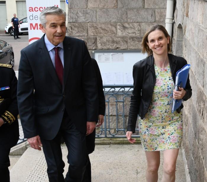 Le Creusot politique econommie industrie visite ministre Agnes Pannier-Runacher Montceau-news.com 030619