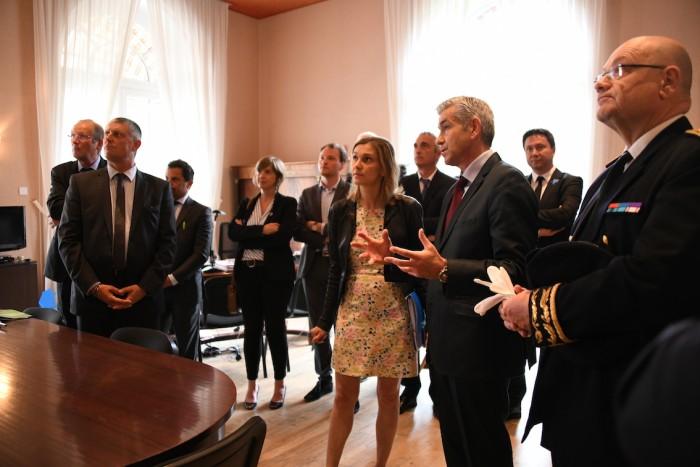 Le Creusot politique econommie industrie visite ministre Agnes Pannier-Runacher Montceau-news.com 0306191