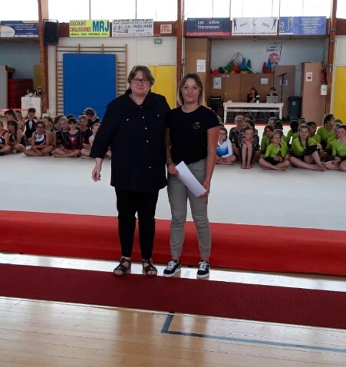 Resultat gym ES Sanvignes gymnastique podium titre championnat Pauline Jandard Maureen Gervasoni Julie Dubuisson Montceau-news.com 100619