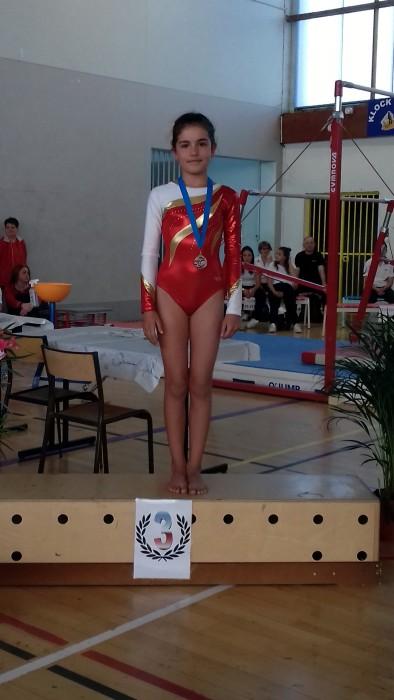 Resultat gym ES Sanvignes gymnastique podium titre championnat Pauline Jandard Maureen Gervasoni Julie Dubuisson Montceau-news.com 1006191