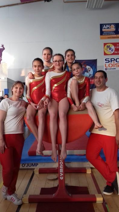 Resultat gym ES Sanvignes gymnastique podium titre championnat Pauline Jandard Maureen Gervasoni Julie Dubuisson Montceau-news.com 1006192